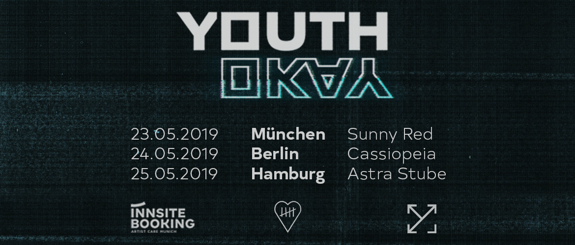Tickets YOUTH OKAY, Get Up Tour in Berlin